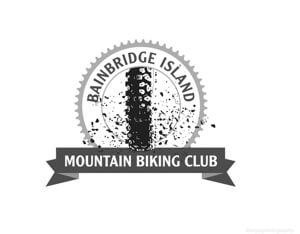 Bainbridge Island Mountain Biking Club Logo for Farm Fresh Mountain Bike and Cyclocross Race